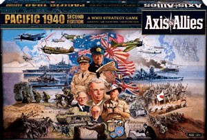 Axis & Allies Pacific - second edition