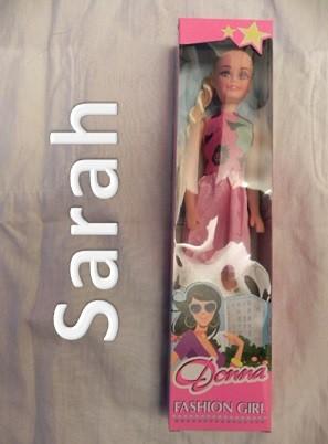 Bambola Sarah
