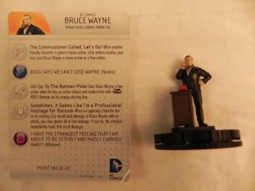 Bruce Wayne - Batman Heroclix Serie Classica