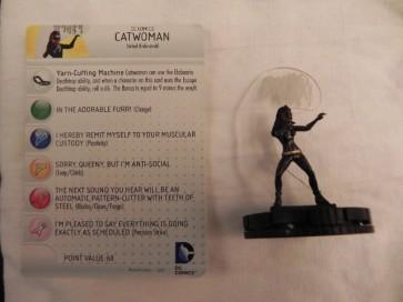 The Catwoman - Batman Heroclix Serie Classica