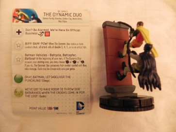 The Dynamic duo - Batman Heroclix Serie Classica