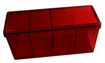 Dragon Shield - BOX 4 SPAZI - RED