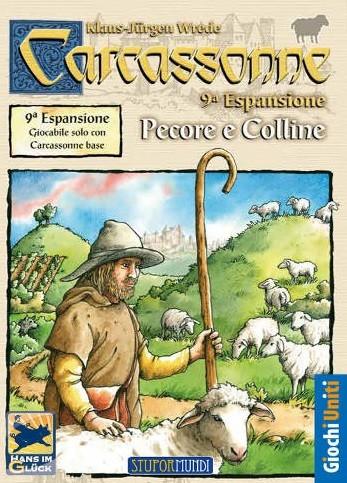 Carcassonne - Pecore e colline