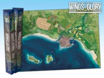 Wings of Glory Game Mat - Coast