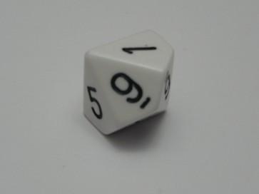Dado Opaco Bianco- D10