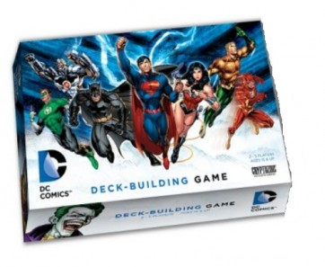 Dc Comics Deck Building Game in italiano