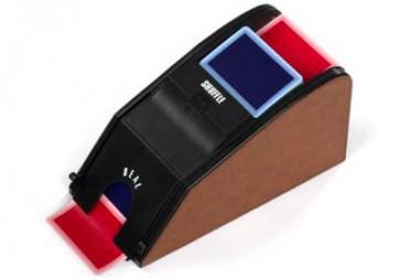 Mescolatore di Carte Automatico con Sabot - Marrone