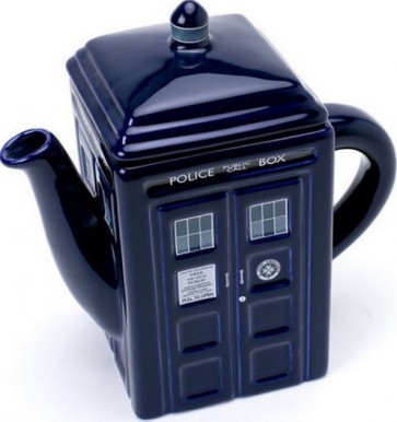Doctor Who - Tardis Teapot