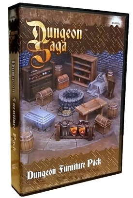Dungeon Saga Dungeon Furniture Pack