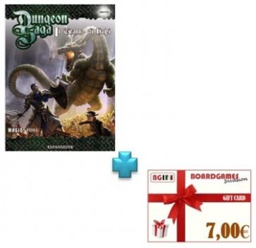 Dungeon Saga Il tiranno di Halpi con buono prossimo acquisto