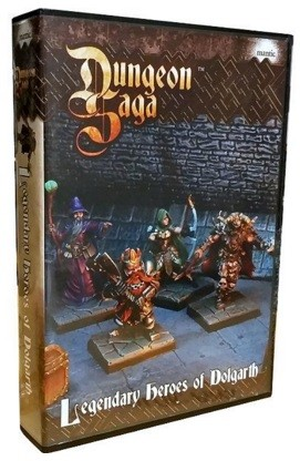 Dungeon Saga Legendary Heroes of Dolgarth (espansione)