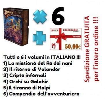 Dungeon Saga tutti i primi 6 volumi in italiano con buono prossimo acquisto