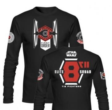 T-Shirt SW EP7 ELITE SQUAD L/SLEEVE BLCK BOY (Medium)