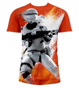 T-Shirt SW EP7 FLAMETROOP BOY FULL P ORNG (Extra-large)