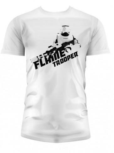 T-Shirt SW EP7 FLAMETROOPER WHITE BOY (Medium)