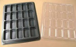 Portapedine in Plastica - Base Nera