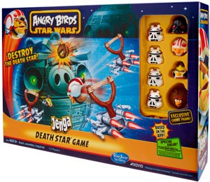 Angry Birds Star Wars - Jenga Death Star Battle Gamee