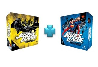 Justice League Hero Dice Batman e Superman in Italiano