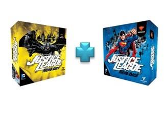 Justice League Hero Dice Batman e Superman in Italiano