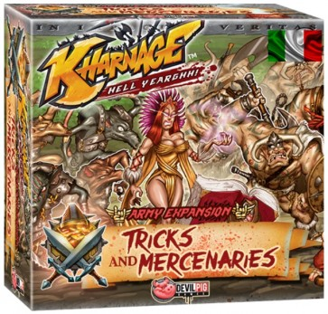 Tricks and Mercenaries espansione Kharnage