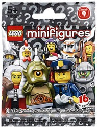LEGO Minifigures - Serie 9 Booster