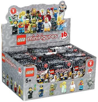 LEGO Minifigures - Serie 9 Espositore (60)