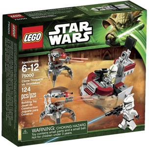 LEGO Star Wars - Clone Troopers vs Droidekas