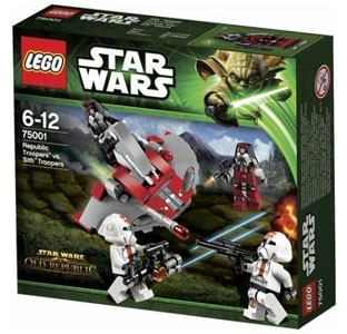 LEGO Star Wars - Republic Troopers vs Sith Troopers