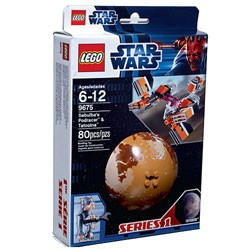 LEGO Star Wars - Planet Series 1 - Sebulba's Podracer & Tatooine
