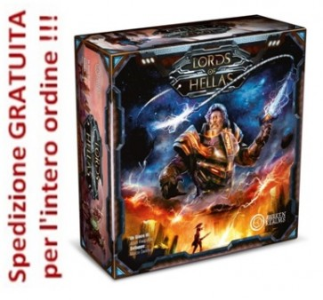 Lords of Hellas + miniatura PROMO Odisseo - Edizione italiana !!!