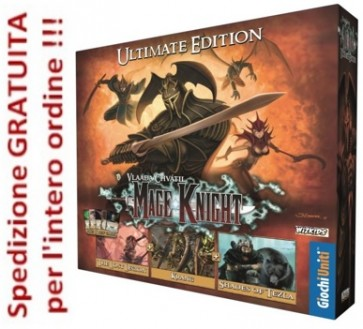 Mage Knight Ultimate Edition in italiano