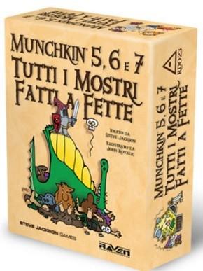 Munchkin 5,6 e 7 - Tutti i Mostri Fatti a Fette