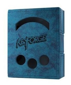 Porta mazzo Keyforge Deck Book Blu