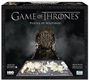 Puzzle 4D Game of Thrones Puzzle of Westeros