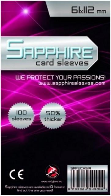100 Bustine protettive Sapphire formato 61x112mm