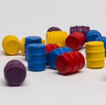 Barile piccolo (1 pezzo) - Rosso