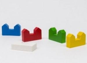 Castle (10 pezzi) - Gialli
