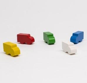 Lorries trucks (10 pezzi) - Rosa