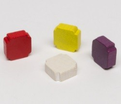 Square 15/6 (10 pezzi) - Gialli