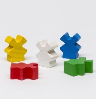 Wooden Mill (25 pezzi) - Rossi
