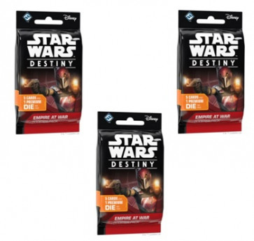 SOTTOCOSTO: 3x Star Wars Destiny Booster Pack L'impero in guerra