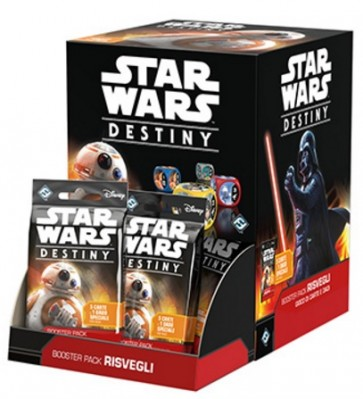 Star Wars MEGA Destiny 36 Booster Pack Risvegli