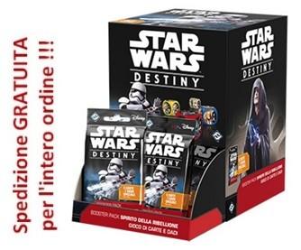 Star Wars MEGA Destiny 36 Booster Pack Spirito della ribellione