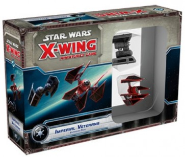 Star Wars XWing Veterani Imperiali