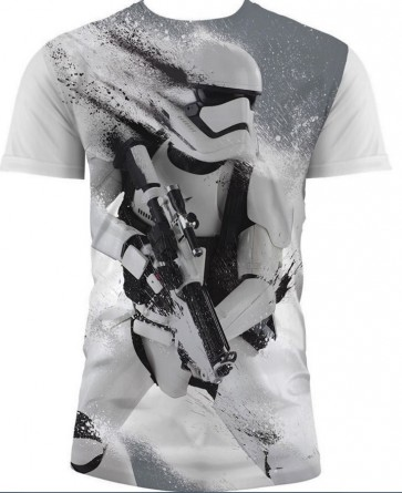 T-Shirt SW EP7 STORMTRP SNOW FULL P W KIDS (Large)