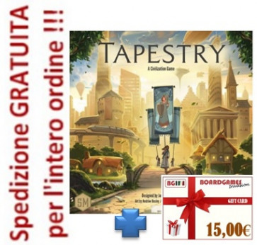 Tapestry in italiano + buono prossimo acquisto di 15,00€
