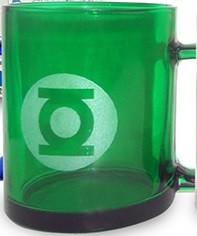 Tazza translucente Lanterna Verde