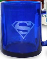 Tazza translucente Superman