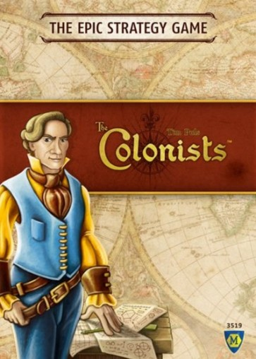 The colonists in inglese