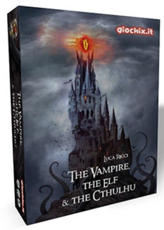 The vampire The elf and the Cthulhu